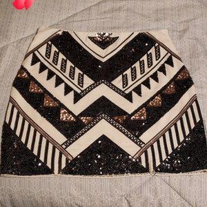 Express Sequins Skirt